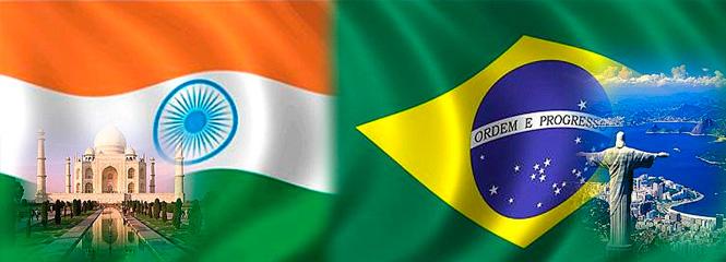 Índia e Brasil